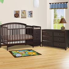 storkcraft 2 piece nursery set bradford convertible crib and