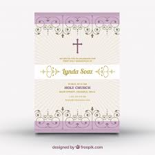 communion invitation vintage communion invitation vector free