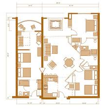 3 Bedroom Floor Plans by 3 Bedroom Condos 3 Bedroom Condo Floor Plan At Chula Vista Resort
