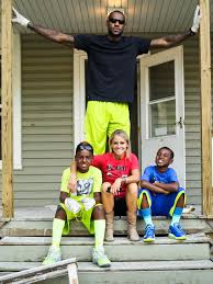 before and afters of a home renovation done by lebron james and