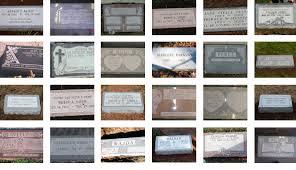 flat grave markers kulinski memorials flat markers
