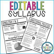 the 25 best syllabus template ideas on pinterest class syllabus