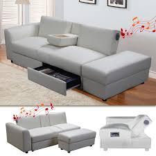 funktions sofa kin funktionssofa mit bluetooth weiss schlafsofa sofa bettsofa