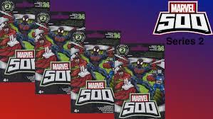 marvel thanksgiving marvel 500 series 2 blind bags youtube