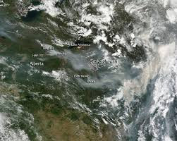 Wildfire Yukon by Large Wildfires Plague Alberta And Saskatchewan Nasa