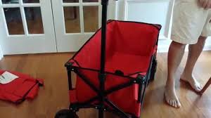 Tofasco Folding Chair by Folding Wagons Mac Versus Ozark Trail Youtube