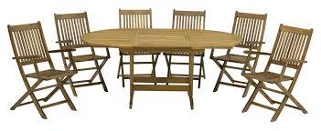 6 Seater Patio Furniture Set - royal craft turnbury 6 seater dining set u0026 reviews wayfair co uk