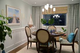 Tropical Dining Room Furniture by One Room Challenge Tropical Dining Room Reveal Rambling Renovators