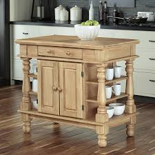 shop home styles brown farmhouse kitchen island at lowes com
