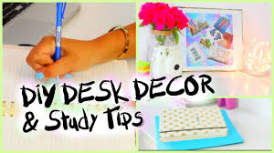 Customized Desk Accessories by How To Organize Your Desk U0026 Study Tips Youtube