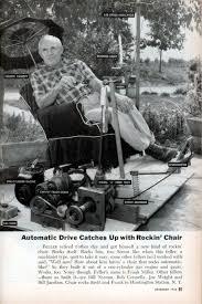 Rocking Chair Scary Pop Up Motorized Rocking Chair Modern Mechanix