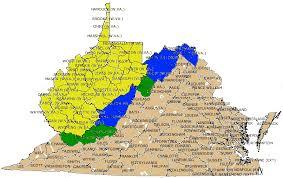 map of virginia counties virginia virginia boundary