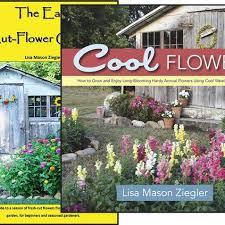 book set cool flowers u0026 the easy cut flower garden