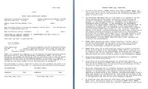 media advertising contract template contract agreements formats
