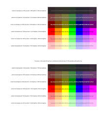typography how to calculate the best type colour for a random