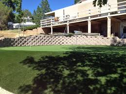 Backyard Putting Green Installation by How To Install Artificial Grass New Raymer Colorado Backyard