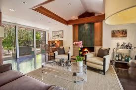 frank lloyd wright living room warwick evans house by frank lloyd wright jr in brentwood angeleno