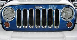 jeep chrome grilles u2013 fendertrim australia pty ltd