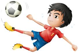 cartoon children playing football free download clip art free