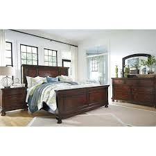 Panel Bed Frame Porter King Panel Bed B697 Kpnlbed Furniture Afw