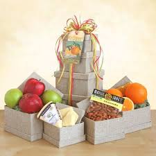 organic fruit gift baskets organic fruit cheese tower cooks cheese tower