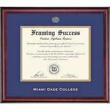 college diploma frames classic diploma frame miami dade college