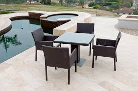 Outdoor Bistro Table Wicker Outdoor Bistro Table Set Simple But Trendy Outdoor Bistro