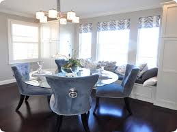 Luxury Dining Chair Covers Furniture Awesome Blue Dining Room Chairs Blue And White Dining