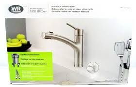 install kitchen faucet faucet design formalbeauteous waterridge brushed nickel pull out