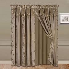 jacquard curtains ebay