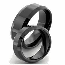black wedding rings meaning black marriage ring images