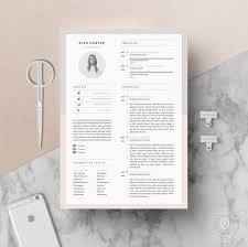 clean modern resume design administrative assistant easy steps to customize your resume for the job you re applying