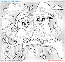thanksgiving pilgrams clipart of an outlined owl thanksgiving pilgrim couple royalty
