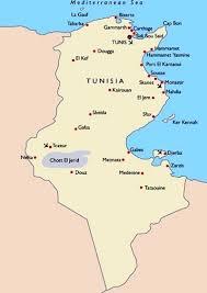 tunisia map images tunisia map of tunisia 9747