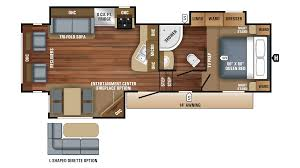 100 fifth wheel floor plans front living room new or used
