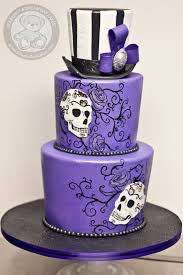 day of the dead wedding cake day of the dead cake bearkery bakery
