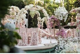 deco fleur mariage mariage romantique et idées de décoration tendance boutik