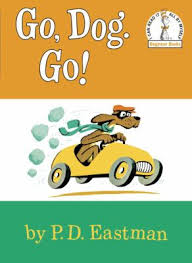 by p d go dog go book by p d eastman