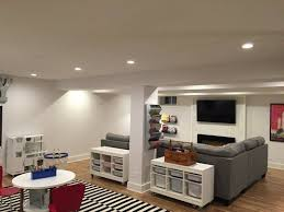 Basement Decor Ideas Fantastical Before And After Basement Makeovers Best 10 Low