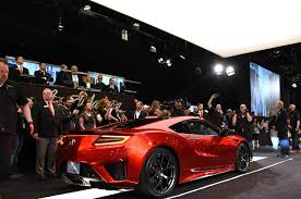 Acura Sports Car Price First 2017 Acura Nsx Sells For 1 2 Million At Auction