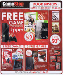 nintendo ds black friday gamestop black friday 2010 ads doorbusters and opening time