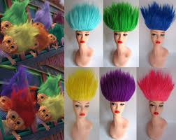 halloween doll wig deluxe troll doll costume wig celebrity costume wigs simon