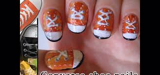 how to paint converse shoe nails nails u0026 manicure wonderhowto