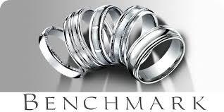 benchmark wedding bands benchmark wedding rings carved bands classic bands tungsten