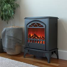 Portable Gas Fireplace by Phoenix Electric Fireplace Free Standing Portable Space Heater Stove