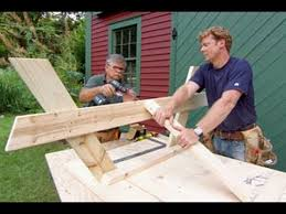 Plans For Building A Wood Picnic Table by How To Build A Picnic Table This Old House Youtube