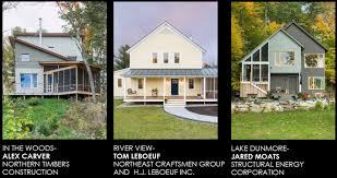 three homes three superinsulated houses in vermont greenbuildingadvisor com