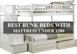 Bunk Bed With Mattress Best Bunk Beds With Mattress 200 For Sale Coophomegood