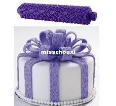 cake ribbon rolling pin ribbon roller cake decoration decorating print press