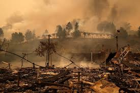 Vacaville Wildfire Map by As California Wildfires Rage On Their Toll Rises Wsj